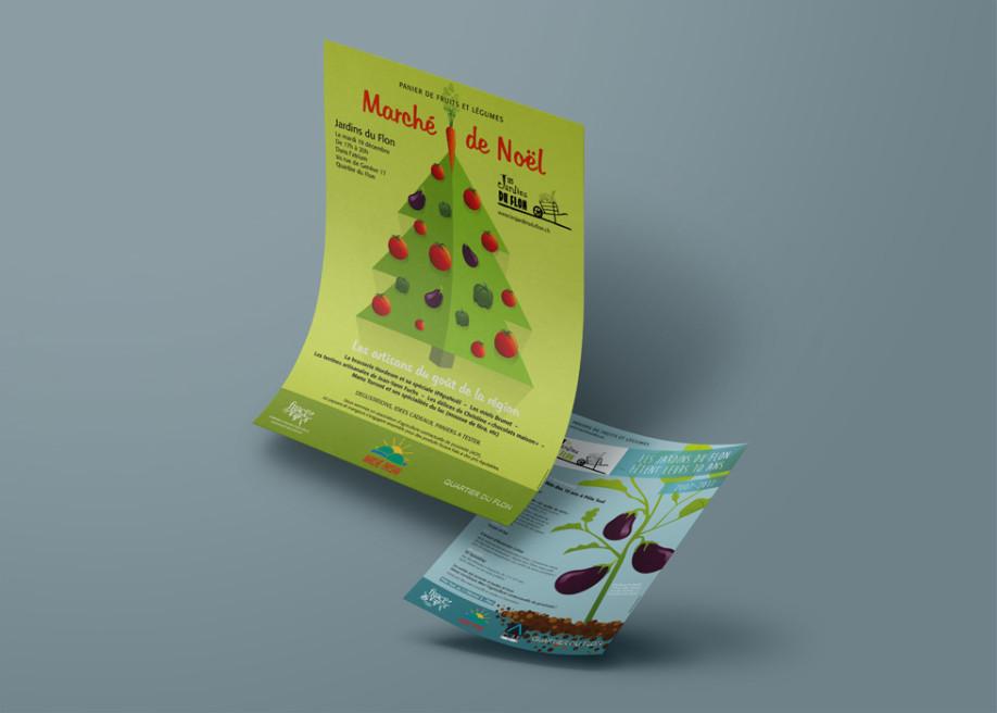 Affiche et flyers